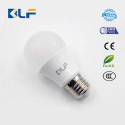 لون أبيض بارد سعر جيد مصباح توفير الطاقة A60 غطاء لمبة LED بقوة 7 واط