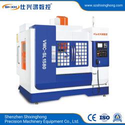 Высокая скорость вертикального обрабатывающего центра обработки данных машины (VMC-SL1580) с ЧПУ для обработки металлических деталей железа алюминий медь цинк стальные, сплав оборудование обработки
