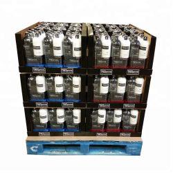 Xampu papelão dobrável exibe os racks de Exibição de papelão para o varejo