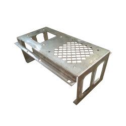 Kundenspezifisches Edelstahl-Aluminiumherstellungs-lochendes verbiegendes Laser-Ausschnitt-Schweißens-Blech, das elektrische Teile stempelt