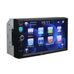 """2-DIN MP5 плеер 7"""" сенсорным экраном Full HD Bt Stereo автомобильной аудиосистеме с Sunplus 6800"""