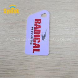 Qualitäts-nichtstandardisierte Größen-spezielle Form-Visitenkarte-PlastikVisitenkarte