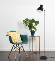 Lampada di pavimento calda dell'indicatore luminoso del sofà del nero di vendita /LED/Decoration/Lamp/Light/Lighting