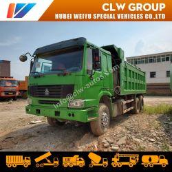 China utiliza HOWO 8X4 de 12 ruedas de camión volquete 6X4 RUEDAS 10 Volquete camión para el mercado africano