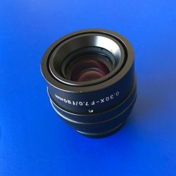 M12,5*F12 de gros de lentilles de caméra de microscope