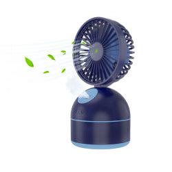 Piccola ventilatore elettrico di gestione del cambiamento USB/Rechargeable di piegatura del ventilatore dello scrittorio pastella