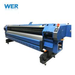 Большого формата 3,2 м растворитель принтер для печати с гибкой рамой для установки вне помещений