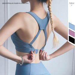 Reggiseno elastico di yoga delle donne del vestito di sport di nuovo disegno