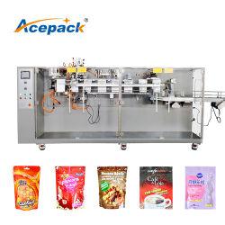 preço de fábrica Premade Plana/Doypack Zipper Bag Porca Bolsa Especiarias Raisin Grânulo sólida máquina de Embalagem embalagem para venda