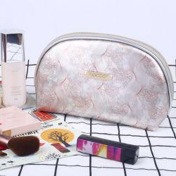 지퍼, 반달 장식용 아름다움 부대 여행 경편한 조직자 주머니를 가진 방수 여행 세면용품 주머니 메이크업