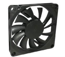 Ventilatore del CPU dell'alto computer portatile di flusso motore di ventilatore di CC di 12 volt fatto nel ventilatore della plastica della Cina 70*70*10mm