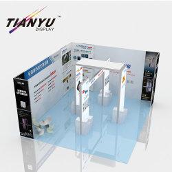 Estructura modular de 10X10 Mostrar perfiles de aluminio para Stand de exposición Mall Belleza