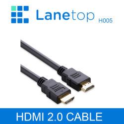 Lanetop HDMI Kabel Videokabel Vergoldetes 1,4 1080P 3D-Kabel für HDTV Splitter Switcher 0,5 m 1 m 1,5 m 2 m 3 m 5 m 10 m 12 m 15 m 20 m