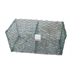 PVC Gabion Box Baskets Cages with SGS from Anjia Factory