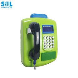 Hete GSM van de Kaart RFID van het Nieuwe Product Openlucht Openbare Draadloze Payphone van de Desktop