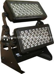 Водонепроницаемая IP65 высокая мощность 216X 3 Вт цвет RGBW Dimming DMX управления для использования вне помещений светодиодный индикатор омывателя
