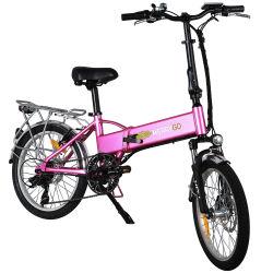 350W du moteur d'entraînement arrière électrique Pliant Vélo pour adultes