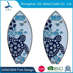 الصين مصنع مخصص معدنية رخيصة البلاستيك اسم الميدالية شارة الزر Tinplate pin Tin Badgemetal الشرطة شارة الأمن من الصين في (368)