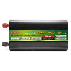 変圧器2000W DC12V/24VへのAC110V/220VはUPSの料金が付いている正弦波力インバーターを修正した