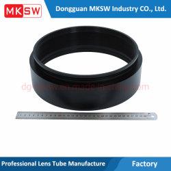Het zwarte Alumina Optische Machinaal bewerkte Deel van het Metaal van de Toebehoren van de Hardware van de Grote Diameter Delen