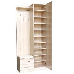 Equipamento para armário guarda-roupa pendurada de entrada com espelho