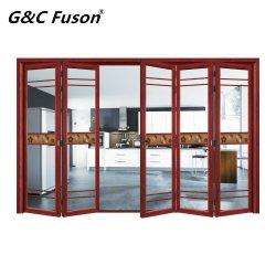 China precios baratos de la puerta plegable de aluminio de alta calidad