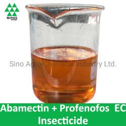 Insecticide Profenofos ce pesticide l'abamectine + (10g/L+190g/L, 20g/L+350g/L)