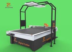 Zhuoxing - 1625 CNC 진동식 칼 가죽 절단 기계(신발 핸드백용 직물 박스 가죽 자동차 매트 박스 천 커터 지난 공장 저렴한 가격