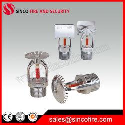 Finition chromée de réponse standard Fire Protection sprinkleur incendie utilisé