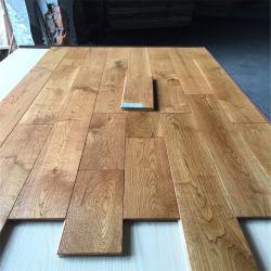 عرض خاص خشب صلب متعدد الطبقات مقاوم للخدش أرضية خشبية