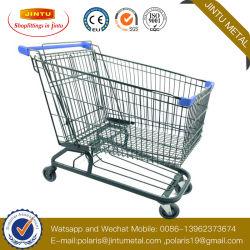 Supermarkt-Plattform-Karren-Ladung-Einkaufen-Laufkatze/Einkaufswagen