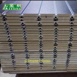 상점 전시를 위해 알루미늄 7~21의 강저를 가진 15~18mm 슬롯 MDF