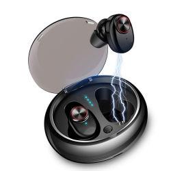 V4.2+EDR 입체 음향 Tws V5 무선 이어폰 붙박이 마이크를 가진 Bhd Dropshipping 무선 Bluetooth 헤드폰