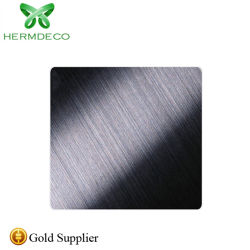 Metallentwurfs-Farben-HaarstrichEdelstahl-China-Lieferant