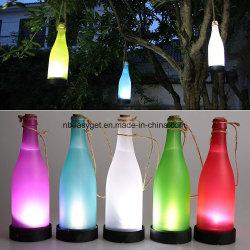 プラスチック LED 太陽びんライトワインボトルライトガーデンハンギングランプパーティ屋外ガーデンコートヤードパティオ Esg10130 用