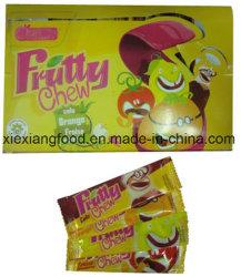 Les bonbons avec saveur aigre et fruité de mâcher
