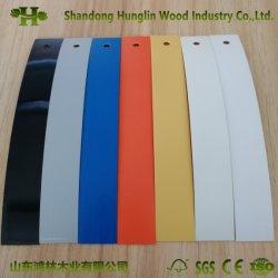 PVC della fascia di bordo di colore solido per la mobilia del MDF