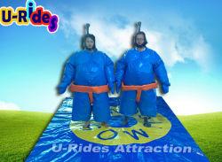 Giochi gonfiabili di sport dei vestiti lottare di sumo di vendita calda di piccola dimensione per i capretti