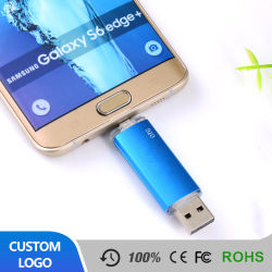 Plastik-OTG USB-Blitz-Laufwerk-Flash-Speicher USB-Stock für androiden Handy und Computer 6g 8g 16g 23G 64G