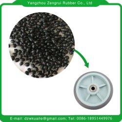 La base de caucho EPDM NBR Nr gránulos de TPE compuesto de materia prima pellas para el moldeo de cualquiera de los productos con un buen precio de TPE.