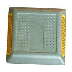 L'aluminium réfléchissant 43 perles de verre réflecteur de goujon de route