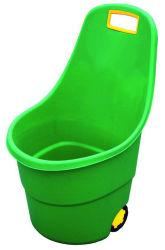 50L'eau en plastique de jardin avec les roues de godet