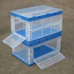 Keert het Knappe Krat die van het voedsel de Plastic Doos van de Opslag vouwen de Plastic Totalisator van het Krat om