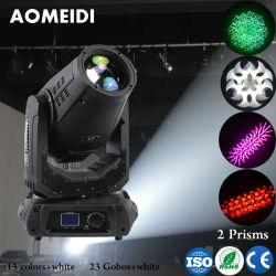 Het Lichte Dubbele Prisma van DJ 17r 350W 3in1 die het HoofdLicht van het Stadium beweegt