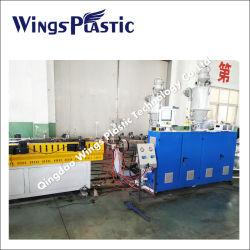 Commerce de gros en PVC en plastique PP PE tuyau ondulé à paroi simple ligne d'Extrusion de production flexible de tube