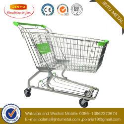 인기 상품 슈퍼마켓에 의하여 사용되는 240L 대량 식료품류 쇼핑 트롤리