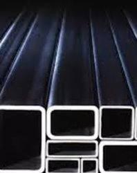 Q235B Section creux carré en acier doux de tube carré de carbone