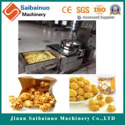 Nuovo popcorn progettato in macchinario dello spuntino
