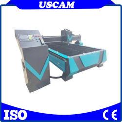 preço de fábrica 1530 1325 63A 100A 120 a 160 um cortador de Chama Huayuan 200A máquina de corte de plasma CNC cortar metal