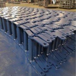 Dcc Wdhr580 Wide Mill-Serie Gesmede Gelaste Rolketting Met Geklonken Uiteinde Met Blauwe Opdruk